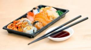 Les sushis, plat japonais