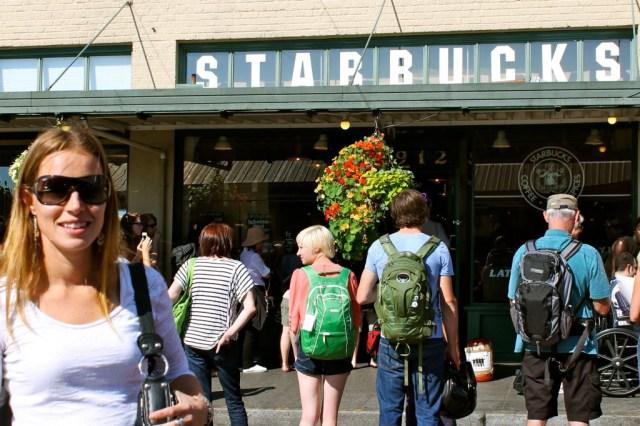 Starbucks mais antiga ainda em funcionamento