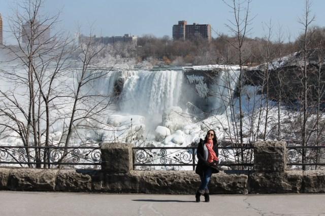 Eu em Niagara Falls :)