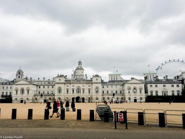 Prédio do Horse Guards, onde ocorre a Horse Guards Parade