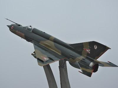 Mig 21, avião russo utilizado na guerra do Vietnã