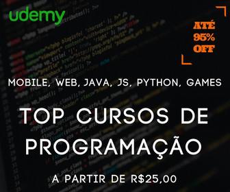 Os melhores cursos de programação