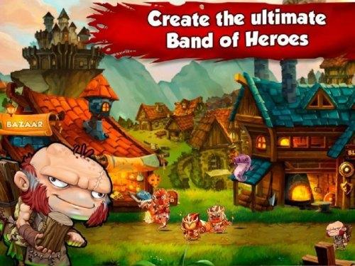 Game Band of Heroes - Quando Felipe passou pela Mobjoy games em Campinas