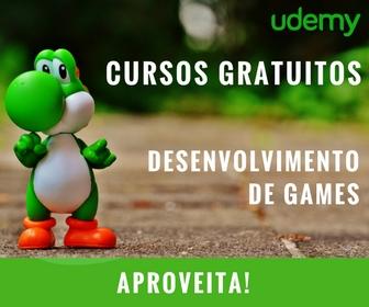 Cursos Desenvolvimento de Games - Grátis