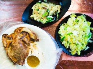 An dong chicken, cingjing, taiwan