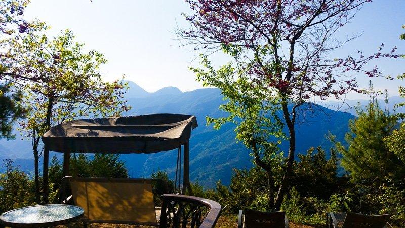 Fon chin minsu, julie's garden homestay, cingjing, taiwan