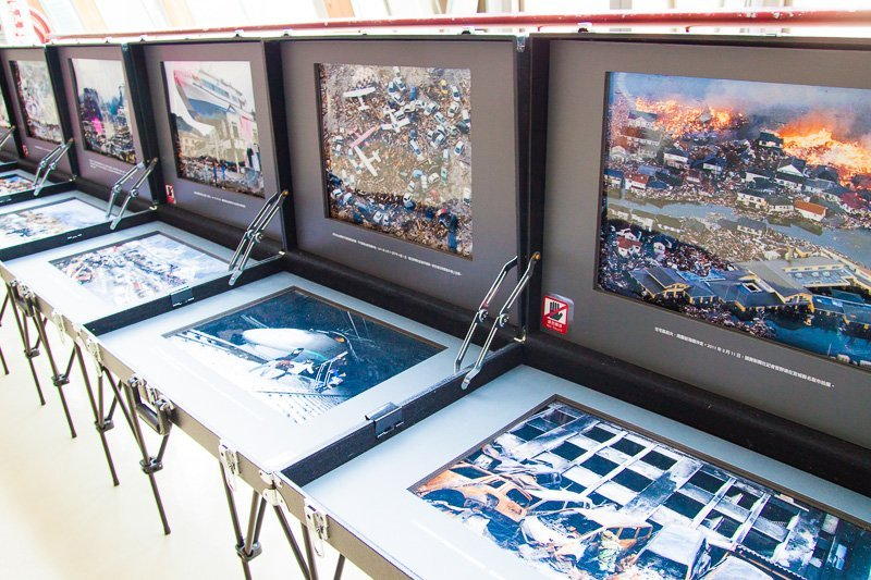 photo exhibits at 921 earthquake museum of taiwan