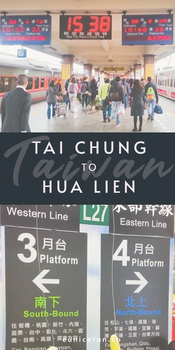 Find out how to get to Hualien from Taichung and what to do once you geet to Hualien.