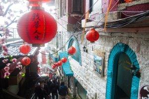 Red lanterns, Jiufen, Taiwan