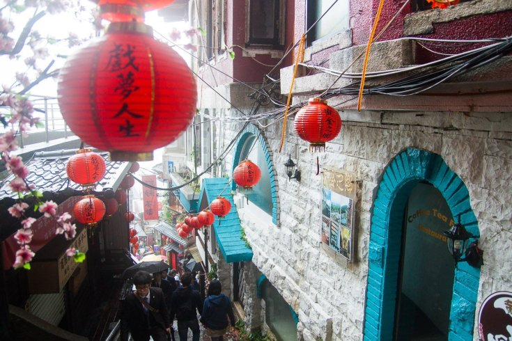 Red lanterns, Jiufen, Taiwan