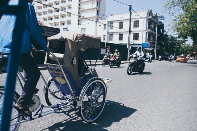 Cyclo Hue Vietnam
