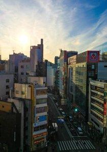 Ikebukuro - View from Centurion Hotel Ikebukuro Tokyo Japan