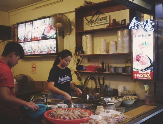 taipei vegetarian food - jin zhi rou yuan