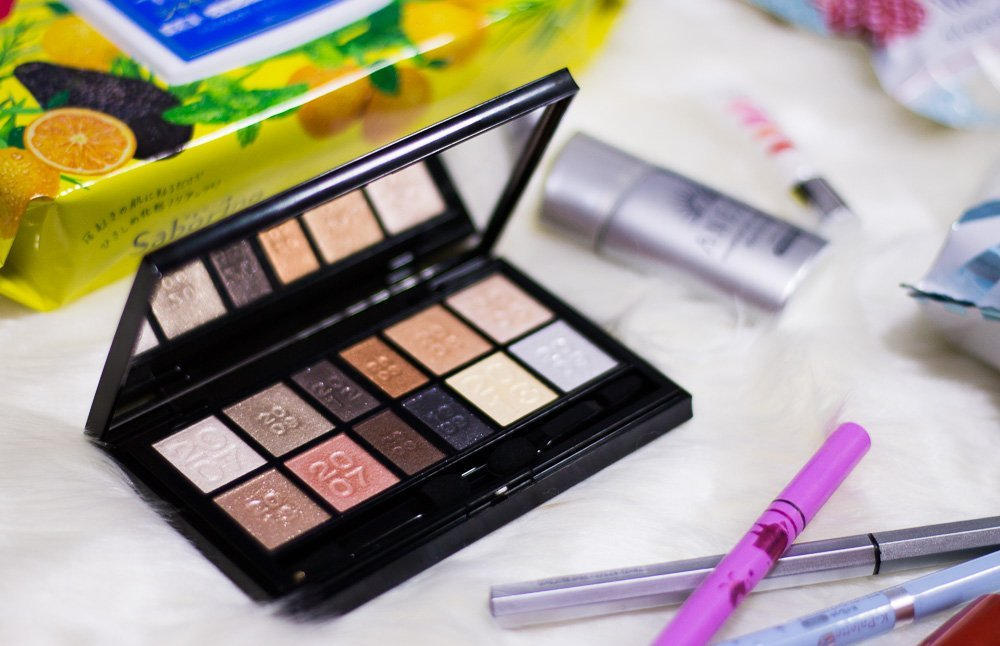What to buy at Japan's drug stores? Kate eyeshadow palette