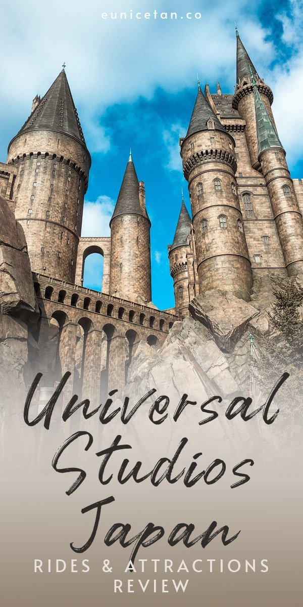 Universal Studios Japan (USJ) is one of the must-do places when you visit Osaka. And the biggest draw for me is definitely the Wizarding World of Harry Potter, the closest thing to living my Hogwarts dream. Read on for my review of USJ, right down to every single ride I've tried!