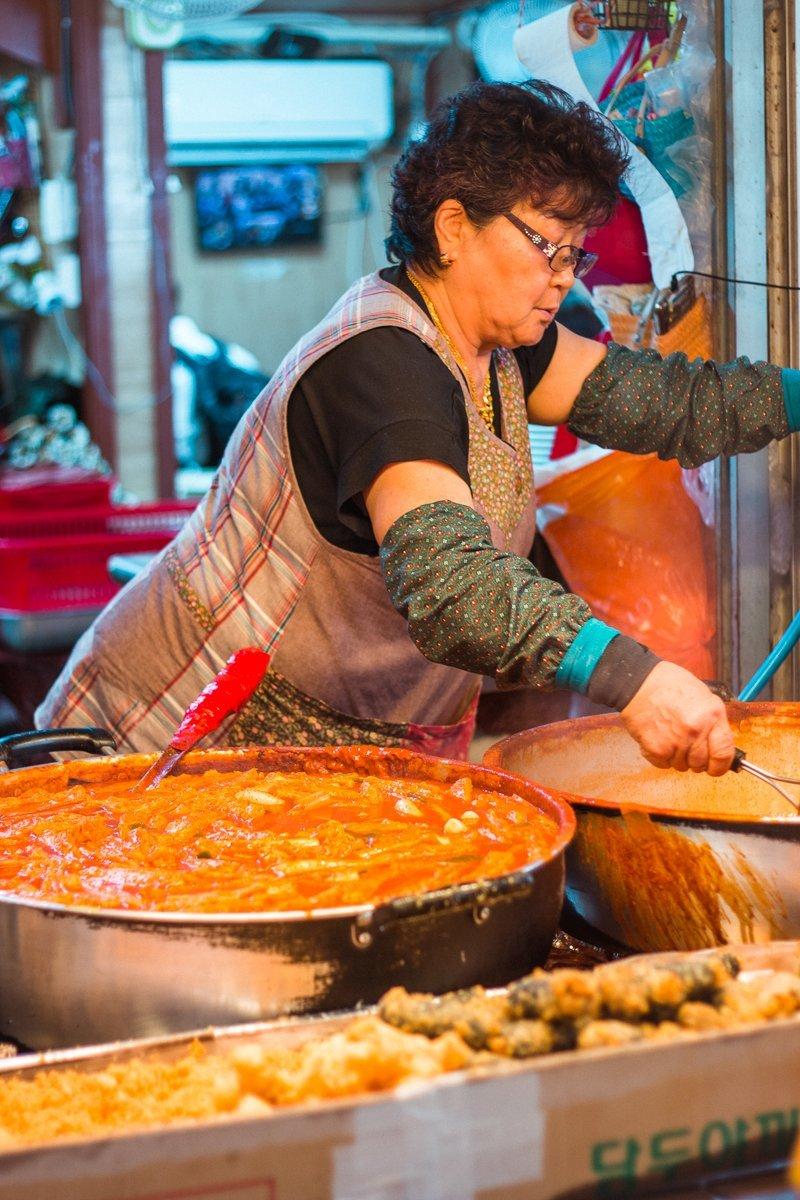 3-day Jeju itinerary - Dongmun market