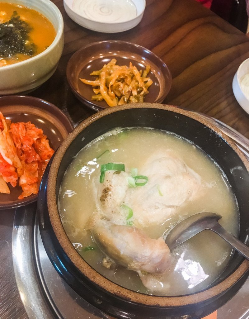 Jeju 3 days itinerary Korea-1 - ginseng chicken