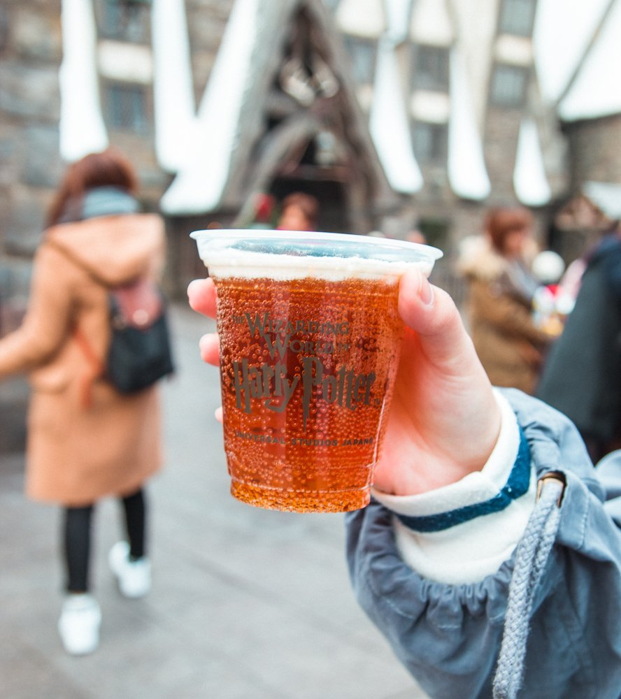 Butter Beer, Wizarding World of Harry Potter - Universal Studios Japan (USJ) - Osaka