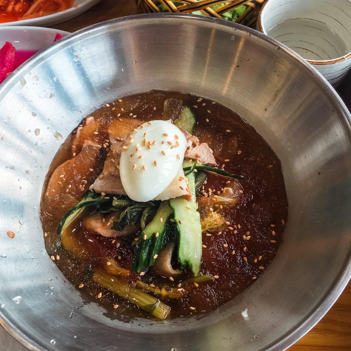 Cold buckwheat noodle, 3 day Jeju itinerary