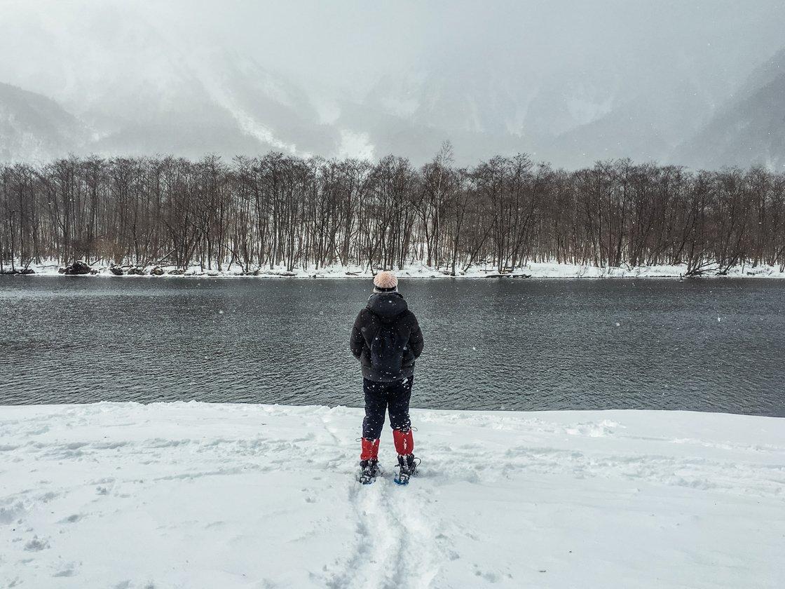 Kamikochi, Winter, Japanese Alps, Japan