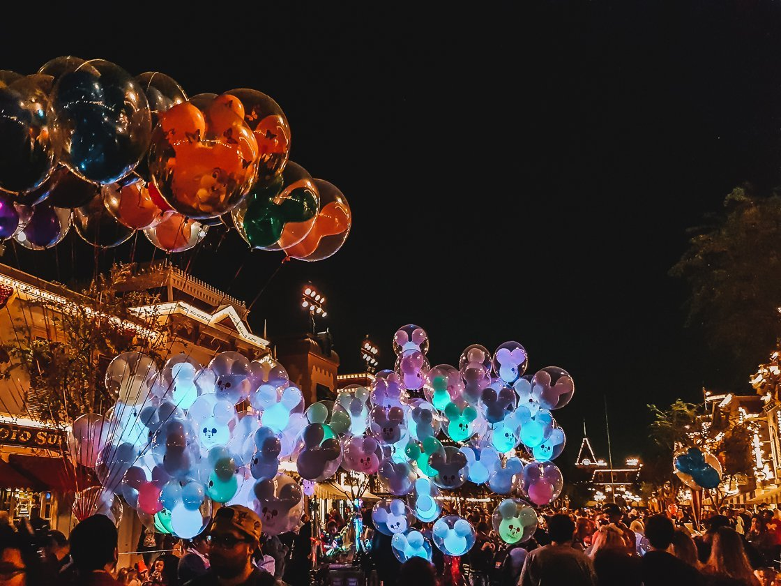 Disneyland at Night, Anaheim, 2-week US itinerary