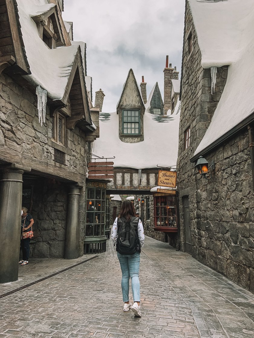 Harry Potter World of Wizarding, Universal Studio Hollywood, LA, 2-week US itinerary with no car