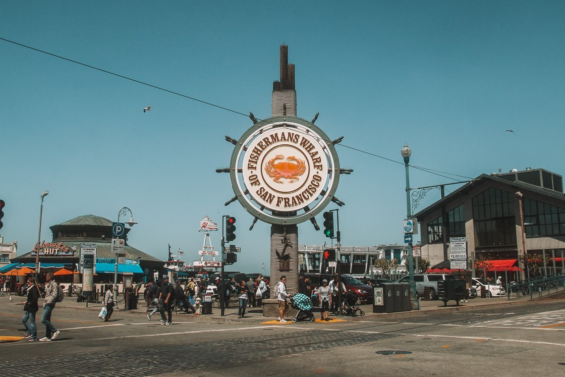 Fisherman's Wharf San Francisco, 2-week US itinerary