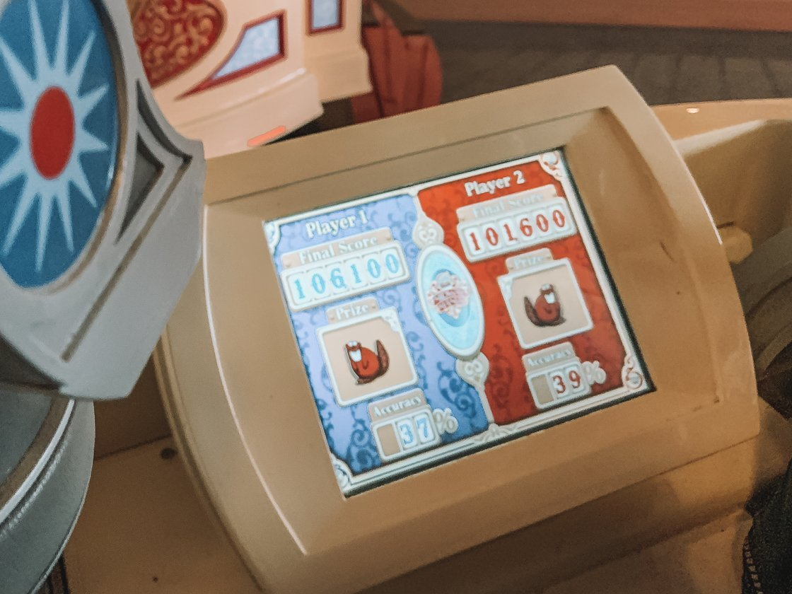 toy story mania ride review california adventure