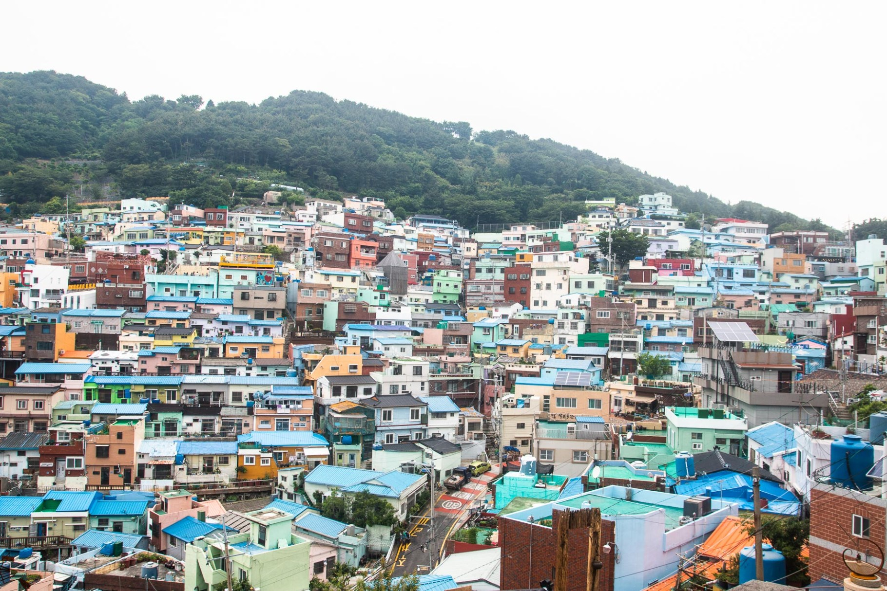 Day 2 in Busan: Gamcheon village, Taejongdae and BIFF square