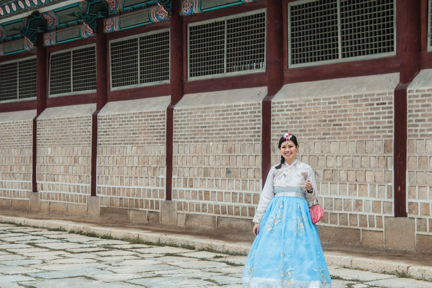 Gyeungbokgung Palace - Hanbok experience
