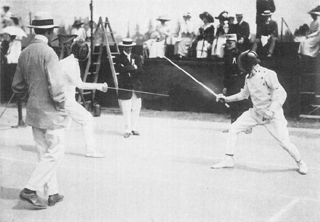 Resultado de imagen de george patton 1912 olympics