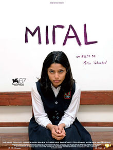 Miral film poster