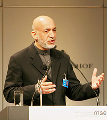 Karzai at the Munich Conference on Security Policy