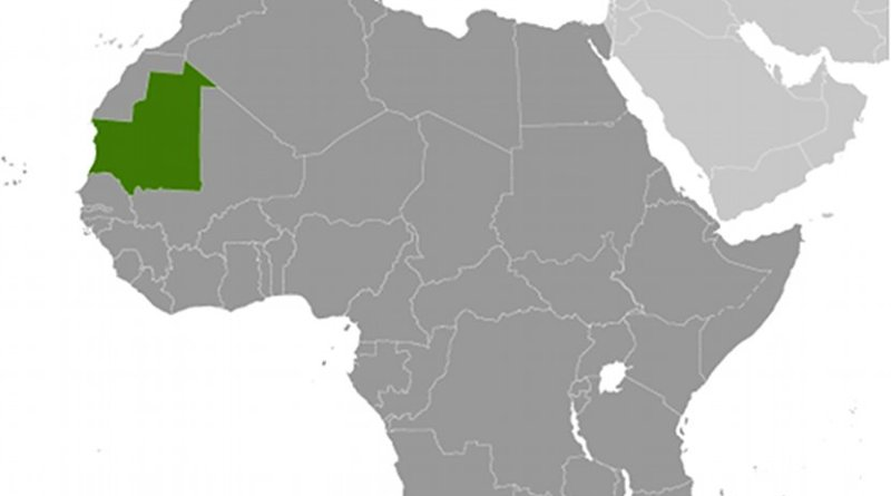 Location of Mauritania. Source: CIA World Factbook