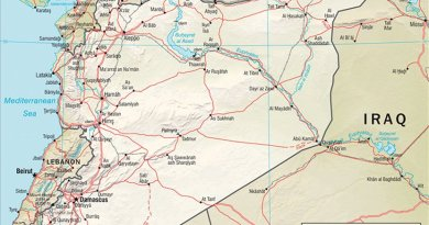 Syria. Source: CIA World Factbook