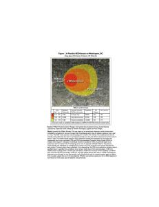 Effect of Dirty Nuclear Bomb In Washington DC - click to enlarge