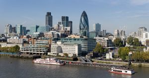 The City of London is the world's largest financial centre alongside New York City