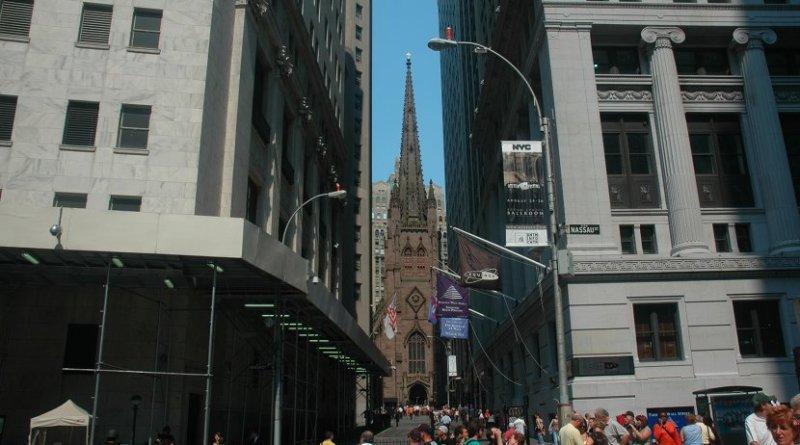 Wall Street, New York City.