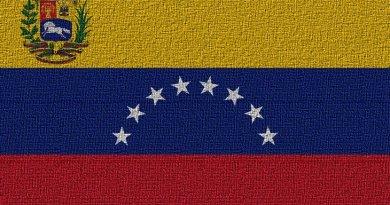 Flag of Venezuela.