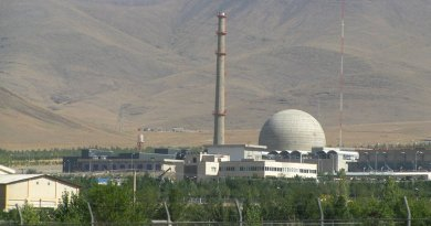 Iran's Arak's IR-40 Heavy water nuclear reactor. Photo by Nanking2012, Wikipedia Commons.