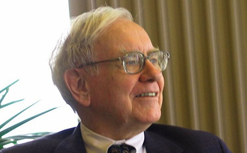 Warren Buffett. Photo by Mark Hirschey, Wikipedia Commons.