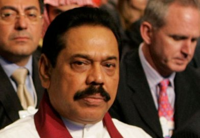 Sri Lanka's Mahinda Rajapakse. Photo by Nader Daoud, Wikipedia Commons.