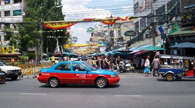 Street scene in Bangkok, Thailand. File photo.