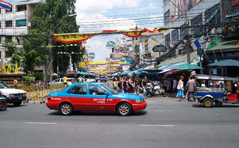 Street scene in Bangkok, Thailand. File photo.