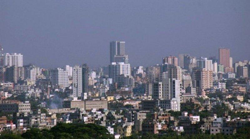 Dhaka, Bangladesh. Photo by Hafrul, Wikipedia Commons.