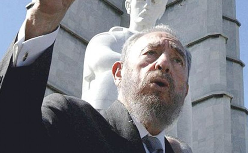 Cuba's Fidel Castro. Photo by Ricardo Stuckert/ABr, Wikipedia Commons.