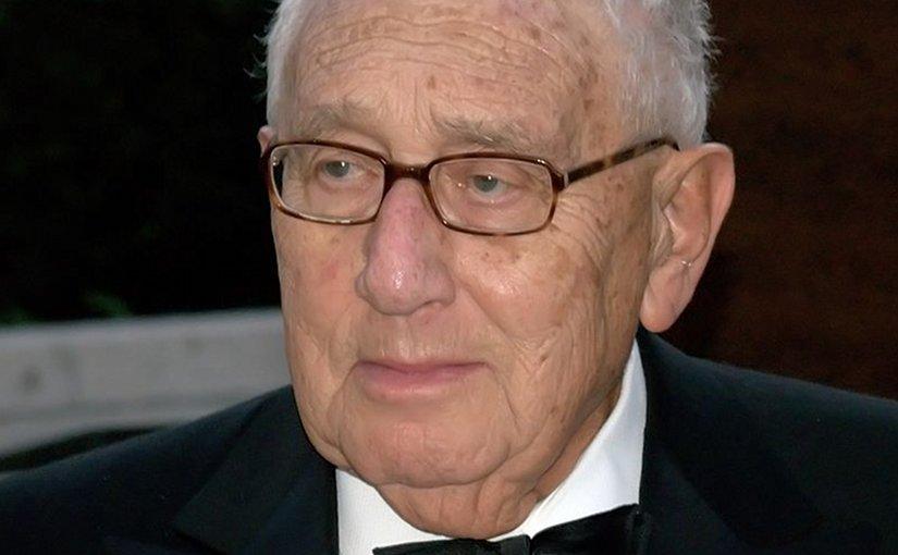 Henry Kissinger. Photo by David Shankbone, Wikipedia Commons.