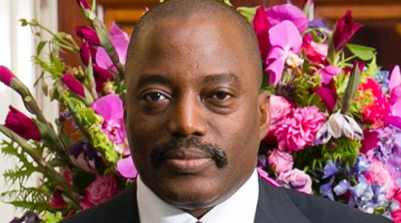 Democratic Republic Of Congo's Joseph Kabila. Photo by Amanda Lucidon / White House. Wikipedia Commons.