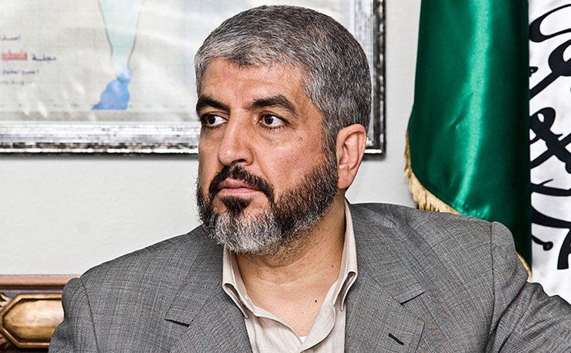Current Hamas leader, Khaled Meshaal. Photo by Trango, Wikipedia Commons.
