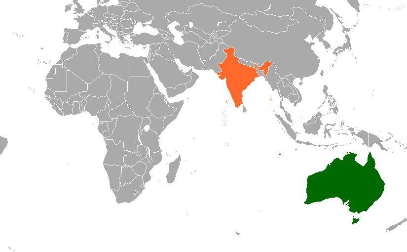 Australia India Map.India To Australia Map Map Of Us Western States